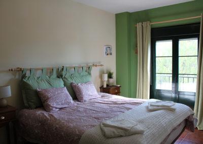 B10 - Soveværelse 2 med balkon.