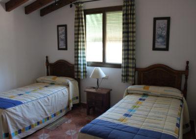 G11 - Soveværelse med to enkeltsenge.