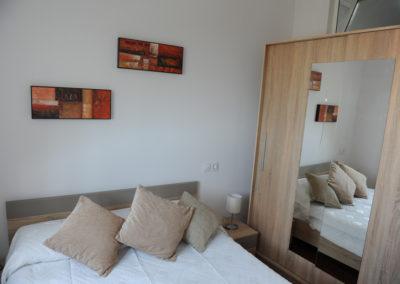 B01 - soveværelse med dobbeltseng