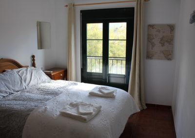 B10 - Soveværelse 1 med balkon.