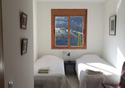 B03 - Soveværelse 3 med to enkelt senge.