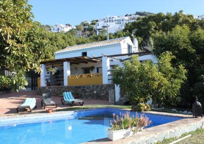 G10 - Huset med pool.