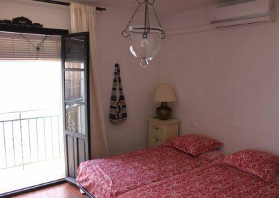 B07 - Soveværelse med dobbeltseng.