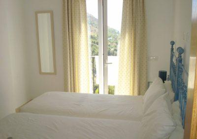 B05 - Soveværelse med dobbeltseng.