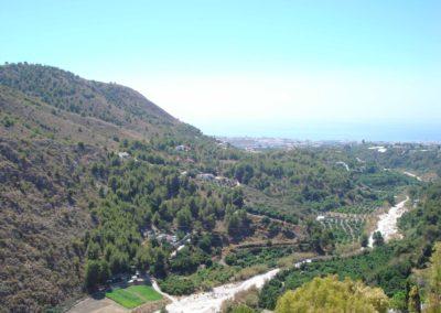 B05 - Udsigt mod floden og Middelhavet.