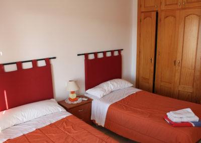 R22 - Soveværelse med to enkelt senge.
