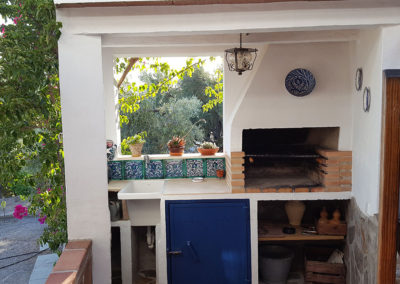 G26 - BBQ ved terrassen.