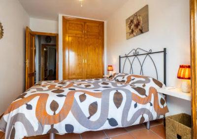 R41 -  Soveværelse med dobbeltseng.