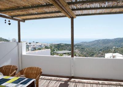 R27 - Skøn udsigt fra terrassen.