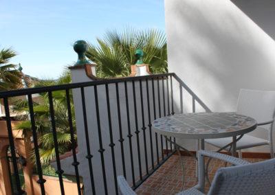 R18 - Privat terrasse.