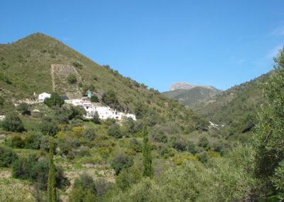 G30 - Udsigt mod den lille landsby Acebuchal.