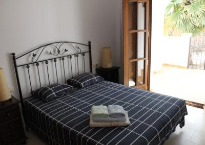 R23 - Soveværelse med dobbeltseng.