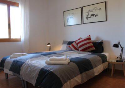 R03 - Soveværelse med dobbeltseng.