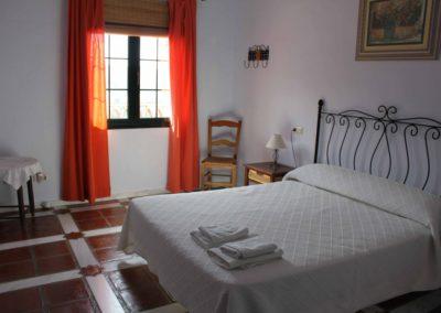 G33 -  Soveværelse med dobbeltseng.