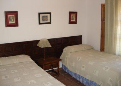 G21 - Soveværelse med 2/4 enkeltsenge.