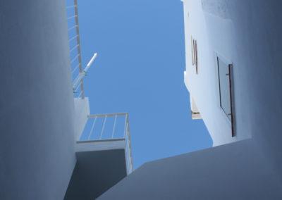 R38 - Kig op fra patioen.