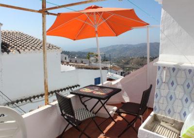 R342 - Privat terrasse.