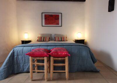 R04 - Soveværelse med dobbeltseng.