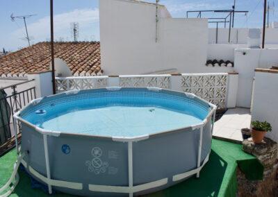 R357 Terrasse med pool.