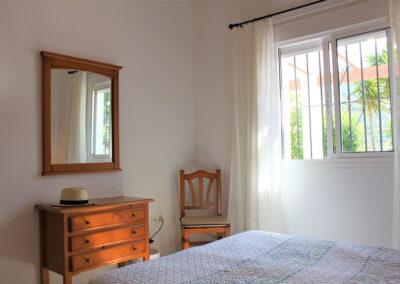 G55 - Soveværelse med dobbeltseng.