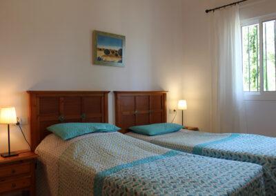 G55 - Soveværelse med enkeltsenge.
