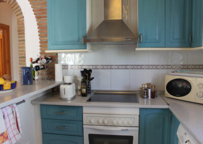 G55 - Veludstyret køkken.